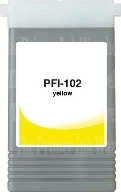PFI-102Y Cartridge- Click on picture for larger image