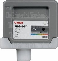 PFI-302GY Cartridge- Click on picture for larger image