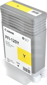 PFI-120Y Cartridge- Click on picture for larger image