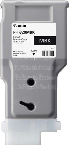 PFI-320MBK Cartridge- Click on picture for larger image